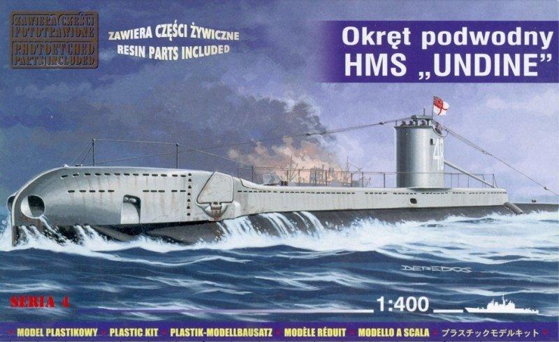 Mirage 404209 1/400 HMS 'UNDINE' Okręt Podwodny