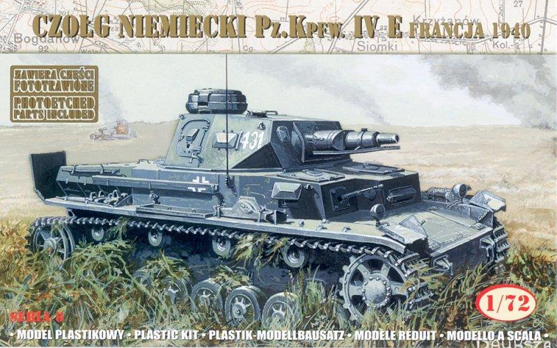 Mirage 72863 1/72 German Tank Pz.Kpfw. IV Ausf. E 'France 1940'
