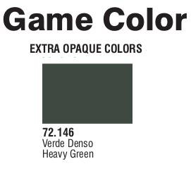 Game Color (72146) Extra Opaque | Heavy Green 17 ml.