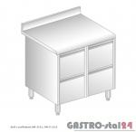 Stół z szufladami DM 3121 szerokość: 600 mm (800x600x850)