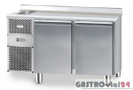 Stół chłodniczy ze zlewozmywakiem z płytą wierzchnią nierdzewną DM 91002 1325x700x850