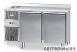 Stół chłodniczy ze zlewozmywakiem z płytą wierzchnią nierdzewną DM 91002 1325x600x850