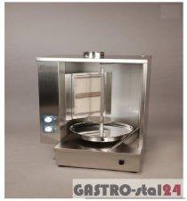 Opiekacz gazowy - gyros obudowany 2-palnikowy ADA-OG 20A