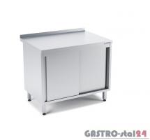 Stół przyścienny z drzwiami suwanymi wym. 1200x600x850