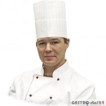 Czapka kucharska Premium h=200