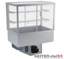 Witryna chłodnicza prosta z klampkami DM-94951.3K wym. 1095x714x1429mm