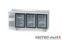 Stół chłodniczy z drzwiami przeszklonymi bez płyty wierzchniej DM 94006 1825x600x850