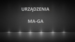 Części zamienne Ma-Ga