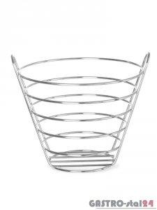 Koszyk do owoców - stalowy śr. 215x205 mm