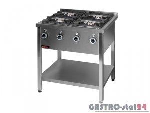 Kuchnia gazowa 4-palnikowa 000.KG-4L 900x850x850