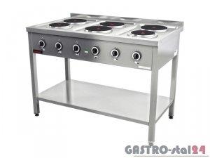 Kuchnia elektryczna 6-płyt KE-6M