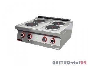 Kuchnia elektryczna 4-płyty 700.KE-4 800x700x280