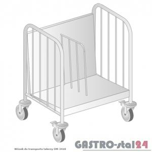 Wózek do transportu talerzy DM 3418 szerokość: 500 mm  (650x500x850)