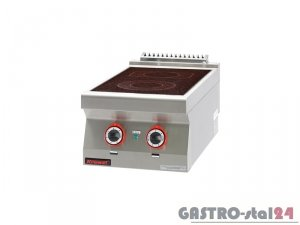 Kuchnia elektryczna ceramiczna 2-pola 700.KE-2C