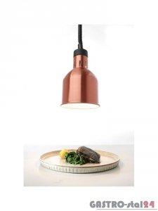 Lampa do podgrzewania potraw wisząca - miedziana
