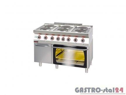 Kuchnia Elektryczna Z Piekarnikiem Elektrycznym 700ke 6 Pe