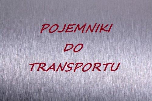 Pojemniki do transportu