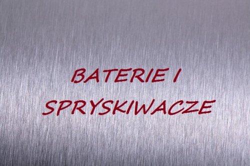 Baterie i spryskiwacze