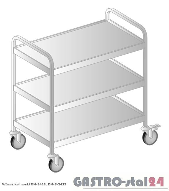 Wózek kelnerski DM-S 3423 szerokość: 685 mm  (855x685x870)