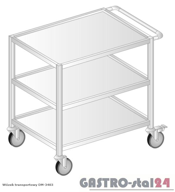 Wózek transportowy DM 3403 szerokość: 640 mm (925x640x900)