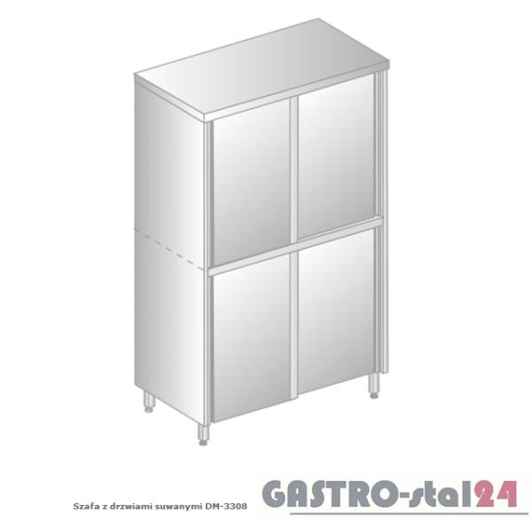 Szafa z drzwiami suwanymi DM 3308.02 szerokość: 600 mm, wysokość: 2000 mm  (800x600x2000)
