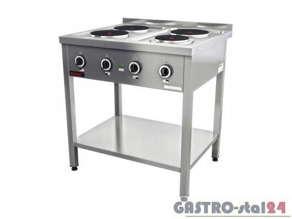 Kuchnia elektryczna 4-płytowa 000.KE-4M 800x700x850