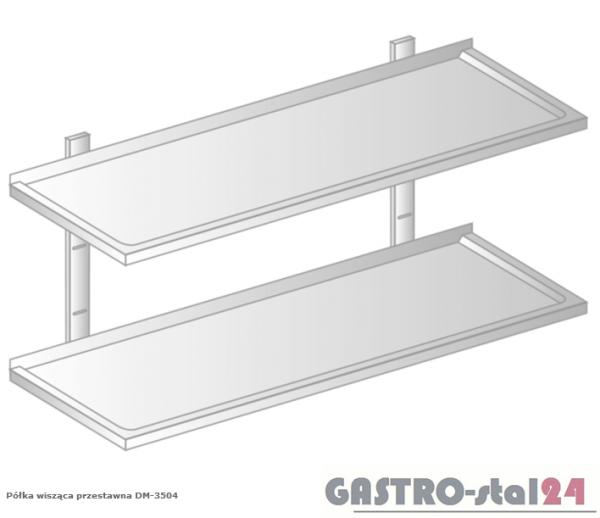 Półka wisząca przestawna DM 3504  szerokość: 300 mm  (600x300x700)