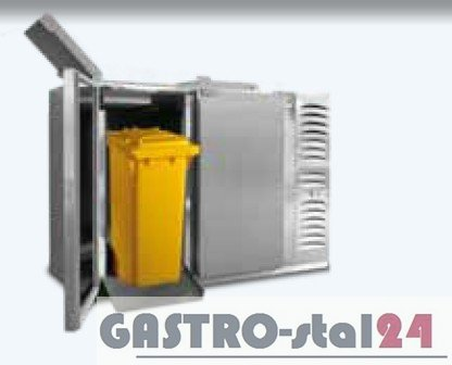 Schładzarka na odpady (z dnem izolowanym) BLOD-2120 1630x716x1176 2x120 L