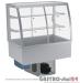 Witryna chłodnicza po łuku z klapkami DM-94950.4K wym. 1420x714x1429mm