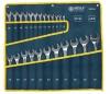 Zestaw 24 kluczy płasko oczkowych MEGA 35344 CrV 6-32mm