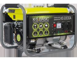 Agregat prądotwórczy benzyna K&S BASIC KS 2200A  2.2 kW