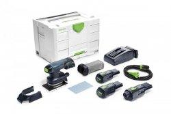 Akumulatorowa szlifierka oscylacyjna Festool RTSC 400 Li 3,1-Set 201513