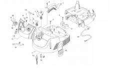 Płytka regulatora obrotów Flex 340359 do S 47, VCE 45 L AC, VCE 35 L AC