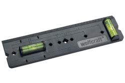 Szablon do wymiarowania otworów pod puszki Wolfcraft 4050000