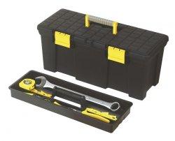 Skrzynka narzędziowa bez wyposażenia z półką Stanley 508*236*240mm 92767