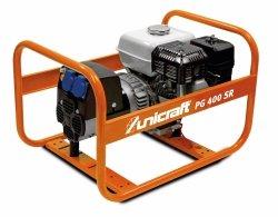 Agregat prądotwórczy benzyna Unicraft PG 400 SR  SILNIK HONDA GX200 3,1 kW