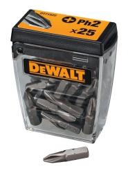 Końcówki do wkrętarki, bity DeWalt DT71522 Ph2 25 szt.