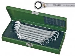 Zestaw kluczy PROXXON MicroSpeeder z przełącznikiem [7 części] 23124