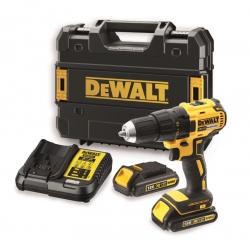 Kompaktowa wiertarko-wkrętarka Dewalt DCD777S2T 18V 2x 1.5Ah