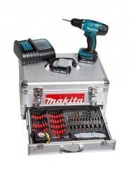 Wiertarko-wkrętarka akumulatorowa Makita DDF343SYEX 14,4V z zestawem akcesoriów