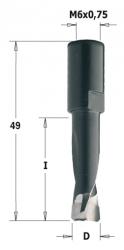 Frez CMT 4 mm do połączeń typu DOMINO do maszyn Festool 380.040.11