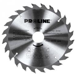 Piła tarczowa z węglikiem spiekanym do drewna Proline 84256 250*60T*30/20/16mm