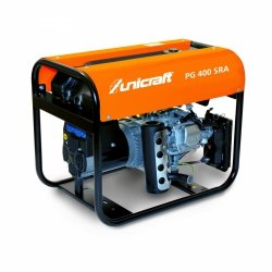 Agregat prądotwórczy benzyna Unicraft PG 400 SRA  SILNIK HONDA GX200 3,1 kW