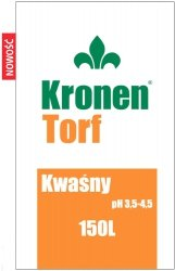 Torf kwaśny Kronen 80l pH3,5-4,5