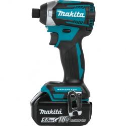 Akumulatorowa wkrętarka udarowa Makita DTD154RTJ 18V 2x5.0Ah MAKPAC