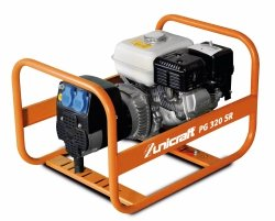 Agregat prądotwórczy benzyna Unicraft PG 320 SR  SILNIK HONDA GX160 2,6 kW