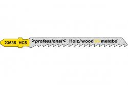 Brzeszczot Metabo drewno seria professional 74 / 4,0 mm Typ T101D  623704000
