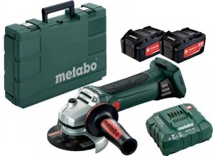 Szlifierka kątowa akumulatorowa Metabo W 18 LTX 125 2x5,2Ah 18V 602174650