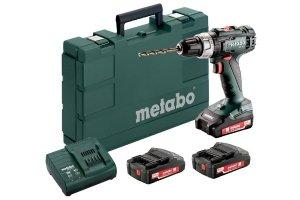 Wkrętarka akumulatorowa Metabo BS 18 L Set (602321540)