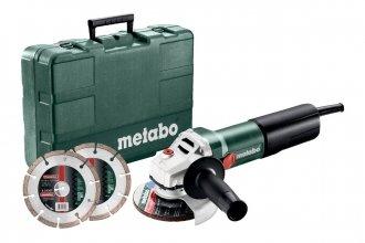 Szlifierka kątowa Metabo WQ 1100-125 Set (610035510)